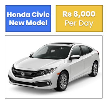 Honda Civic For Rent In Islamabad