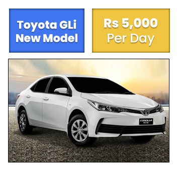 Toyota GLi New Model Islamabad