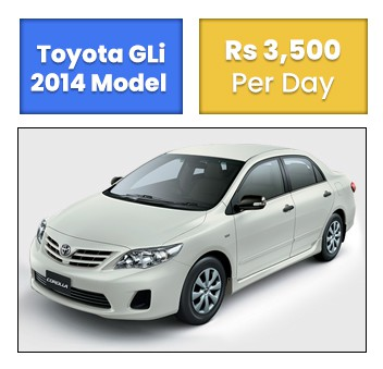 Toyota GLi islamabad
